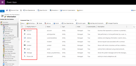 How to create a new solution in MS Dynamics 365