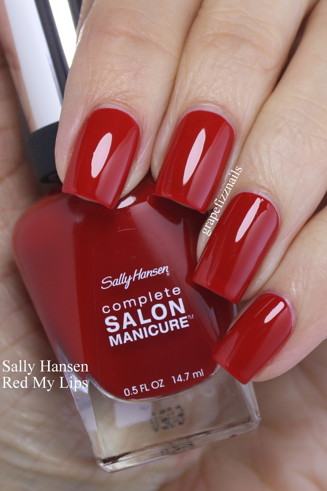 Grape Fizz Nails: Sally Hansen Get Red-y to Celebrate!