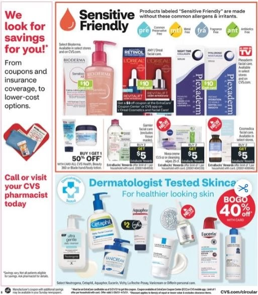 CVS Weekly Ad Preview 3-28-4-3