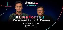 TikTok anuncia projeto de música Live For You