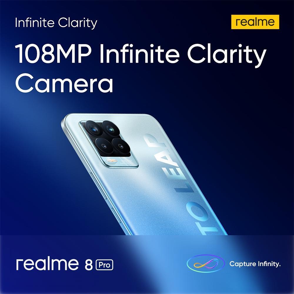 """Capture Infinity"" Raya Ini Dengan Telefon Pintar Pertama Realme Dengan 108MP Kamera & Pengecasan Pantas 50w"