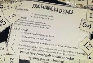 Professoras Na Web Jogo Domino Da Tabuada