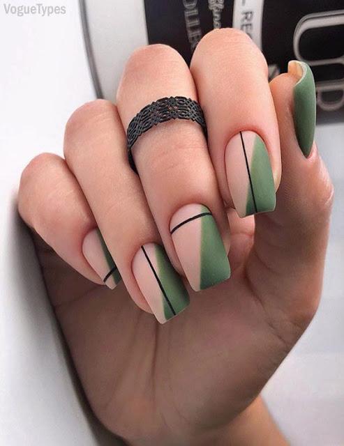 Cute Winter nail designs