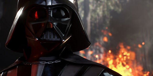 Así es Darth Vader en Star Wars: Battlefront II