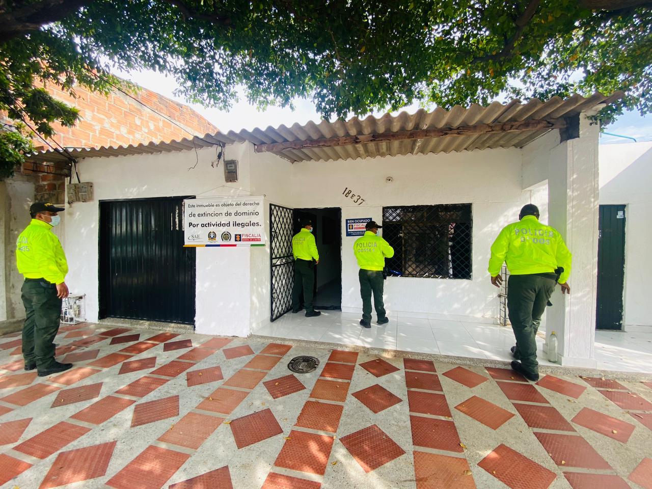 https://www.notasrosas.com/En el Cesar, seis inmuebles fueron afectados con Extinción de Dominio por Narcotráfico