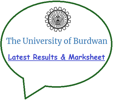 Burdwan University Result 2018
