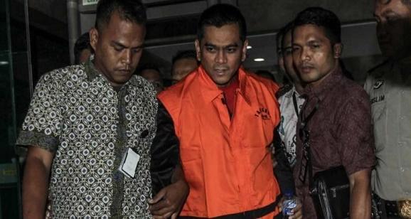 """Ketua Fraksi Partai Gerindra di DPRD DKI Jakarta, M Sanusi, """" Shock """" Tertangkap Tangan KPK"""