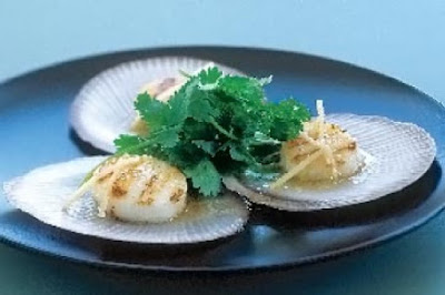 Coriander and ginger scallops  easy recipes for kids
