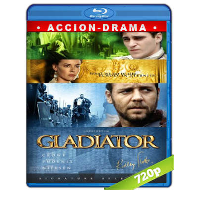 Gladiador (2000) BRRip 720p Audio Trial Latino-Castellano-Ingles 5.1