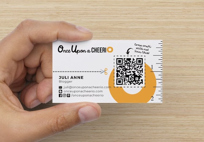 Creative Clever Business Card Ideas for crafters