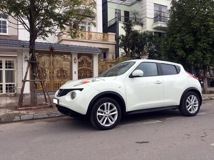 Nissan Juke 2012 - xe 'xấu lạ' giá hơn 500 triệu tại Việt Nam