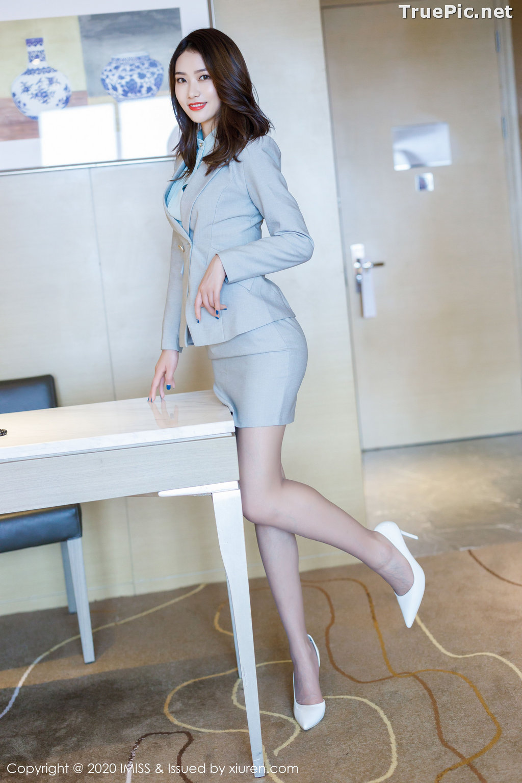 Image IMISS Vol.466 - Chinese Model - Fang Zi Xuan (方子萱) - Sexy Office Girl - TruePic.net - Picture-1