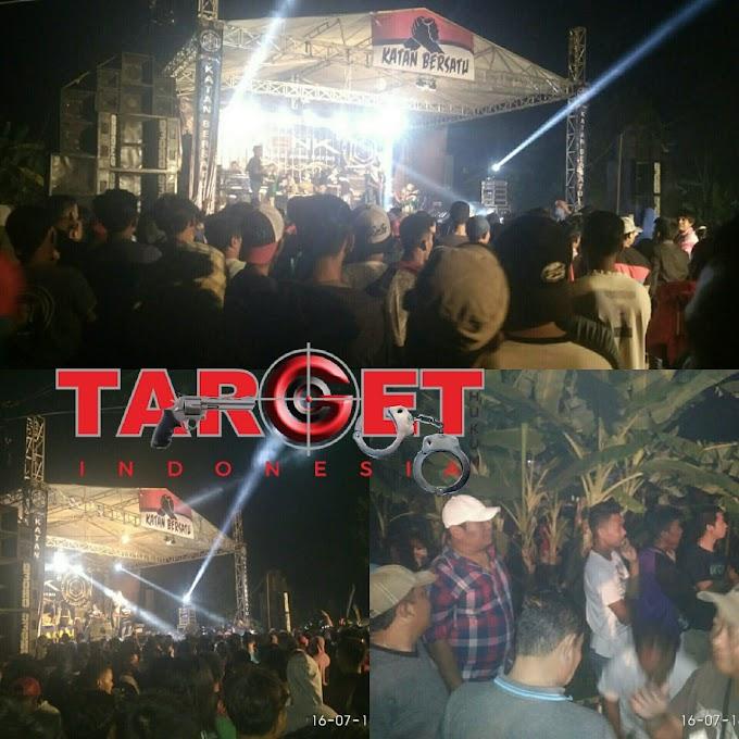 Live Show OM Romansa Meriahkan Halal Bihalal Pemuda Desa Angkatan Kidul
