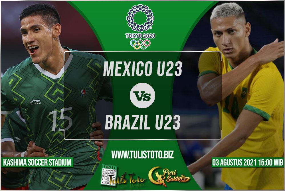 Prediksi Mexico U23 vs Brazil U23 03 Agustus 2021