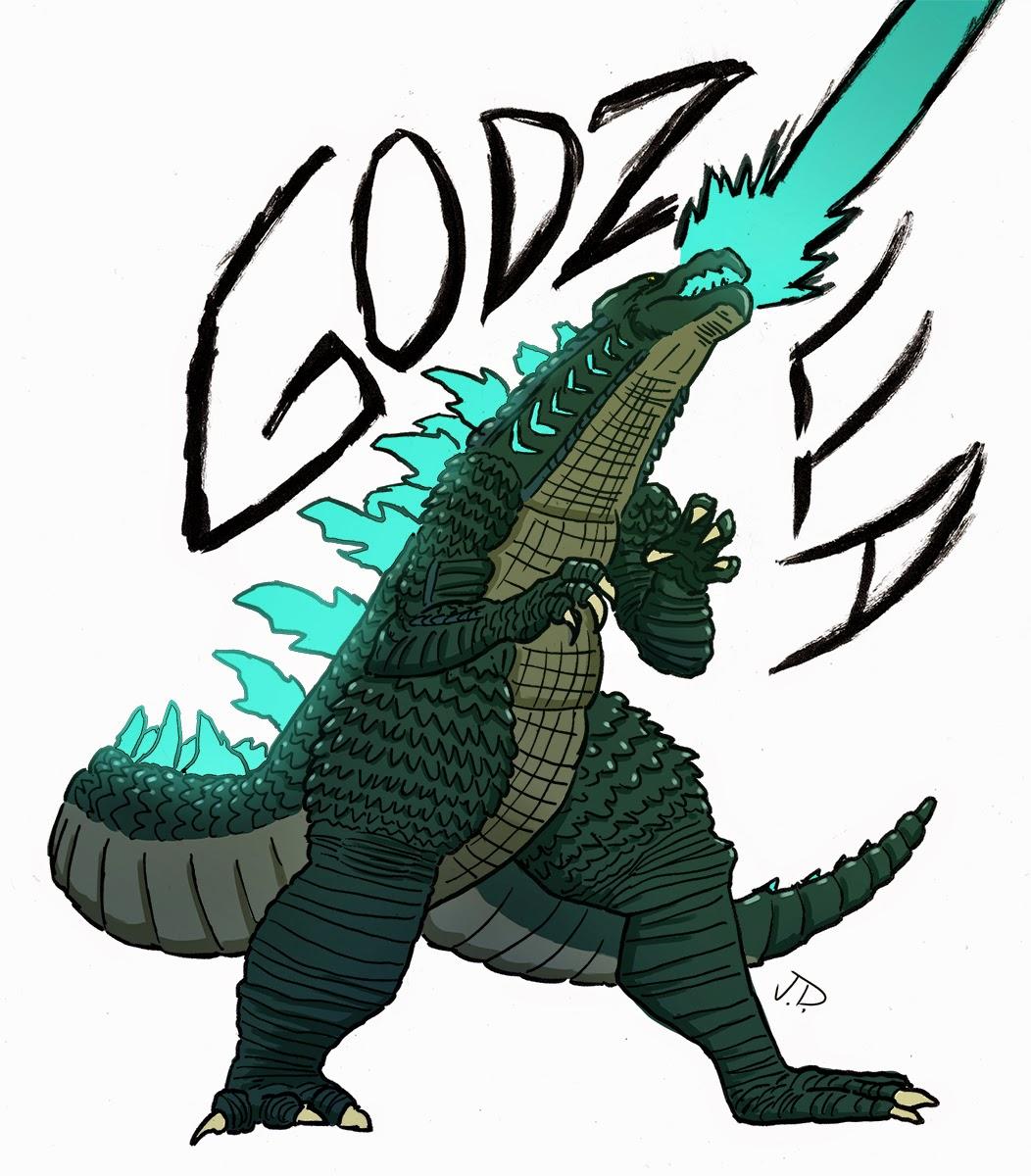 Sketched Screenings: Godzilla