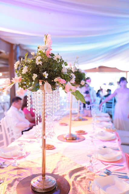 affordable wedding package cebu - centerpiece