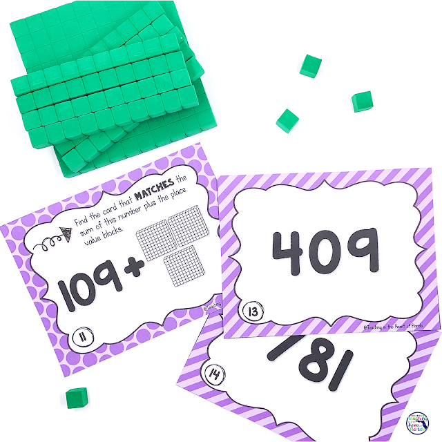 Hands On Place Value Centers