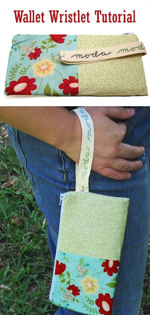 Wallet Wristlet Zipper Pouch Tutorial