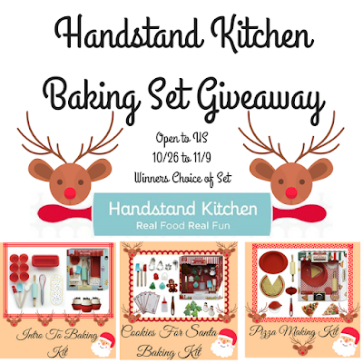 Enter the Handstand Kitchen Giveaway. Ends 11/9