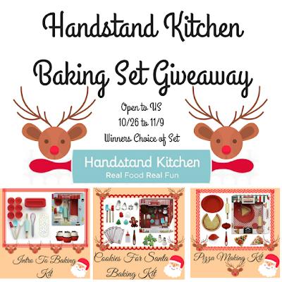 Enter the Handstand Kitchen Giveaway. Ends 11/9