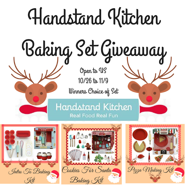 handstand kitchen, baking, baking set, giveaway