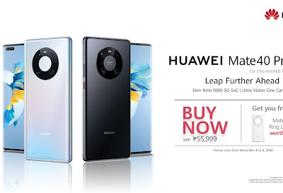 HUAWEI TO OFFICIALLY LAUNCH MATE 40 PRO IN THE PHILIPPINES ON DECEMBER 4!