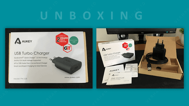 unboxing aukey pa 28