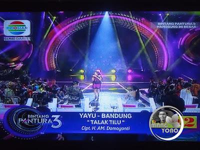 Yayu Bandung lagu Talak Tilu