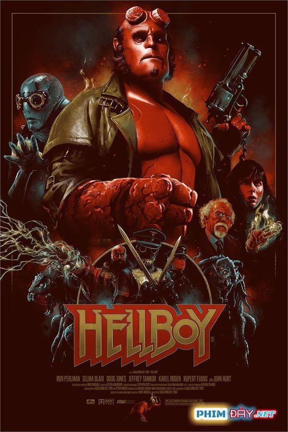 Quỷ Đỏ - Hellboy (2004)