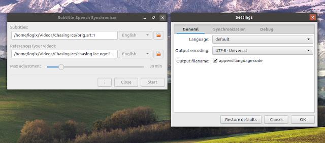 Subtitle Speech Synchronizer