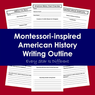 American History Writing Outline (Free Printable)