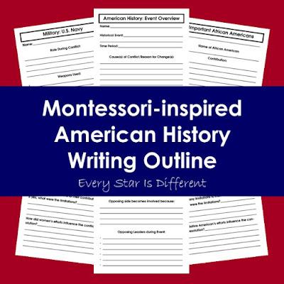 American History Writing Outline (Free Printable)