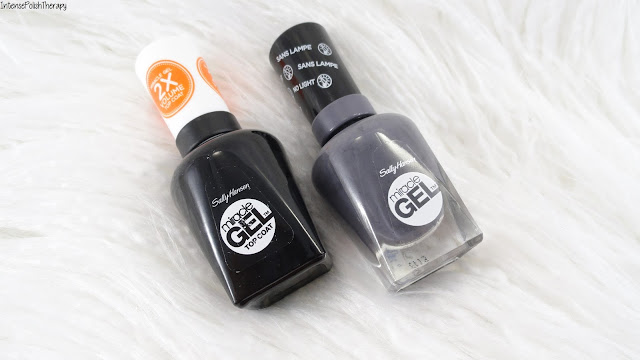 NEW! Sally Hansen Miracle Gel | Slate-r Girl + Miracle Gel 2x Volume Top Coat Swatch