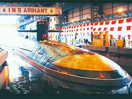 Submarino indio INS Arihant (Indian Navy).