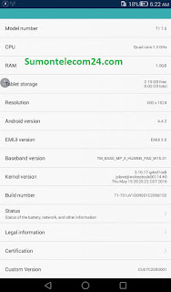 Huawei T1 7.0 images