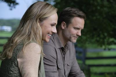 """Nikki DeLoach & Scott Porter in Hallmark's """"Taking the Reins"""""""