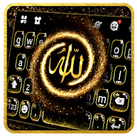 Golden Allah Keyboard Theme Apk free Download for Android