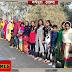 मधेपुरा: पुरैनी में मानव श्रृंखला में उम्मीद से बढकर भीड़: श्रृंखला के दौरान 5 बेहोश