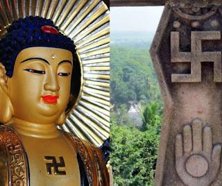 Suastica tambem é presente na cultura Budista e em diversas culturas pagãs pelo mundo