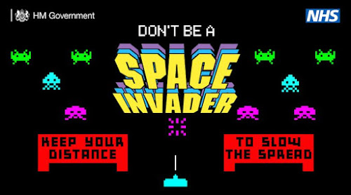 keep your dsistance space invaders