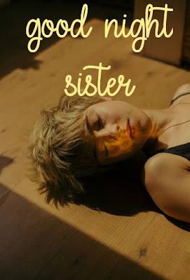 good night sister poem