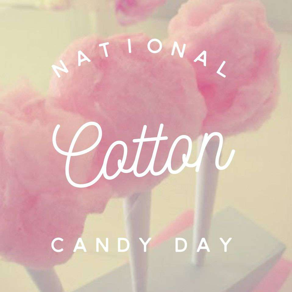 National Cotton Candy Day Wishes Images download