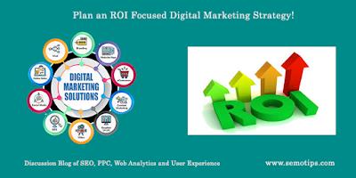 ROI Focused Digital Marketing Strategy