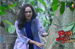 Vanya / Fanya di Sinetron Fatih di Kampung Jawara