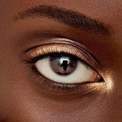 Maquillaje de ojos para chicas negras