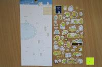 vorne: Blue Vessel 5 PCS Kreative Niedlichen Kaninchen Fett Papier Notebook Marker Label Notizblock Haftnotizen