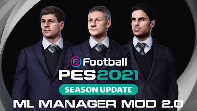 PES 2021 ML Manager Mod by SoulBallZ (Offline Only)