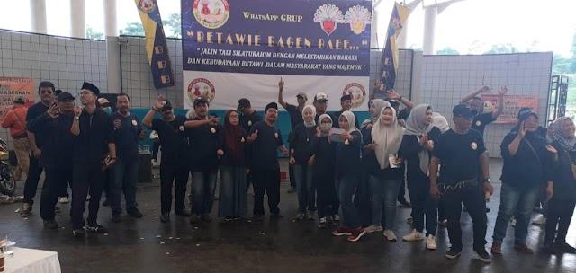 Kumpulan Betawi Bagen Baee Gelar Kopdar Bersama Warga Betawi.