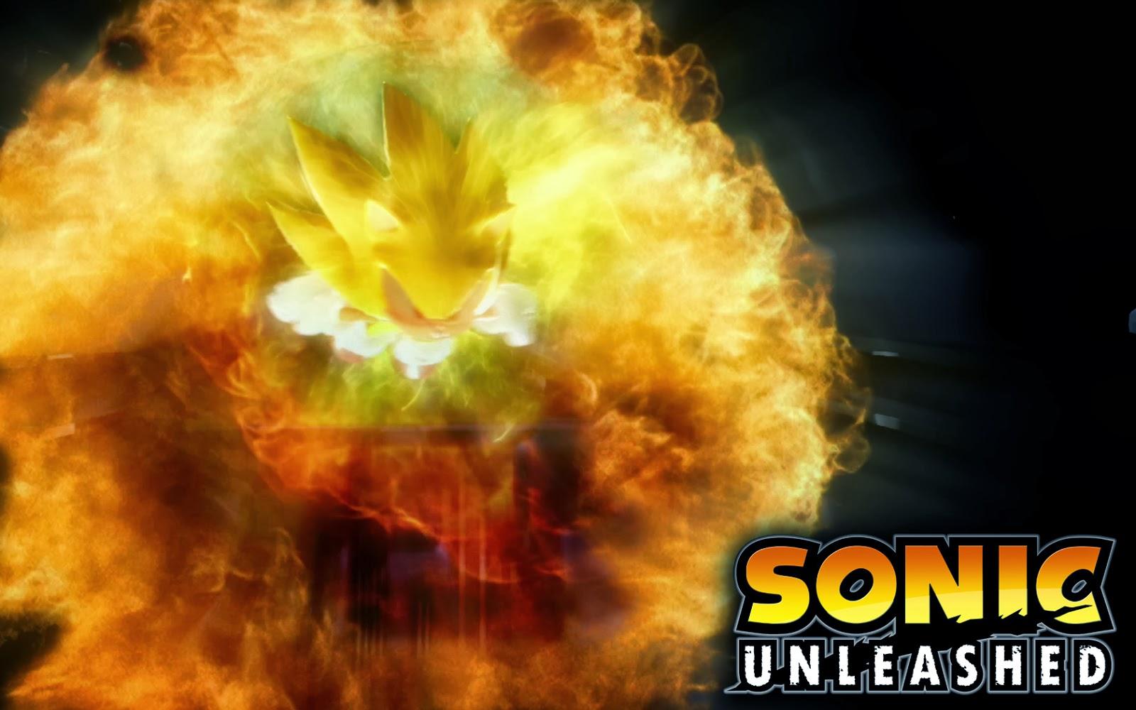 Super Sonic Unleashed Wallpaper