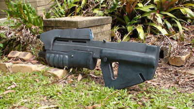 Halo Combat Evolved Assault Rifle Prop
